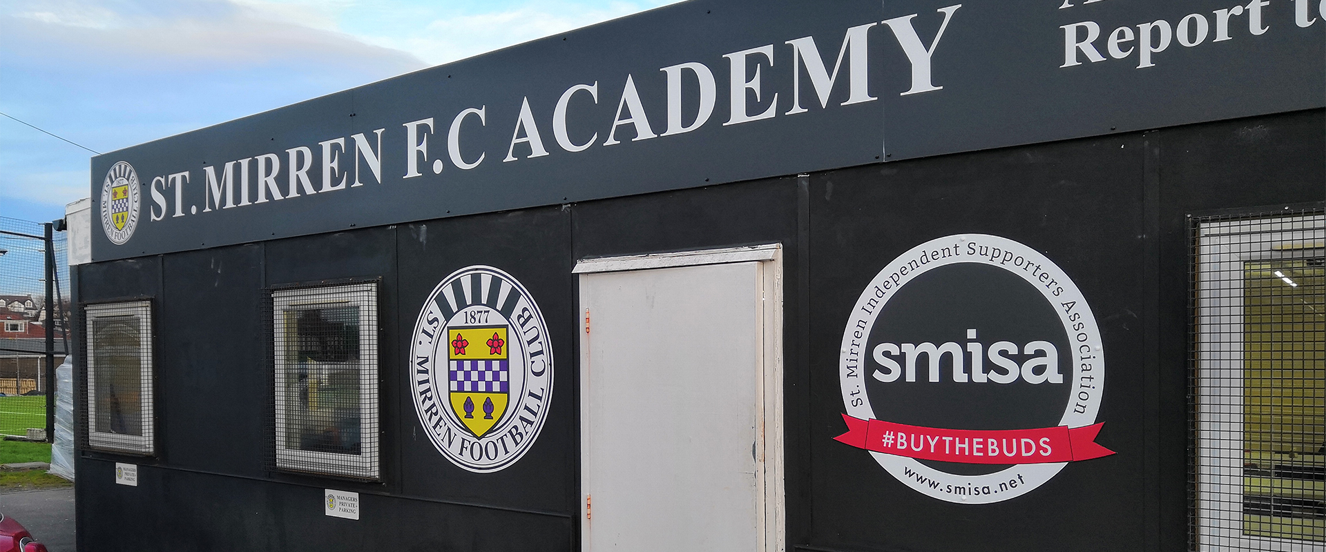 SMiSA sponsors the St.Mirren Academy