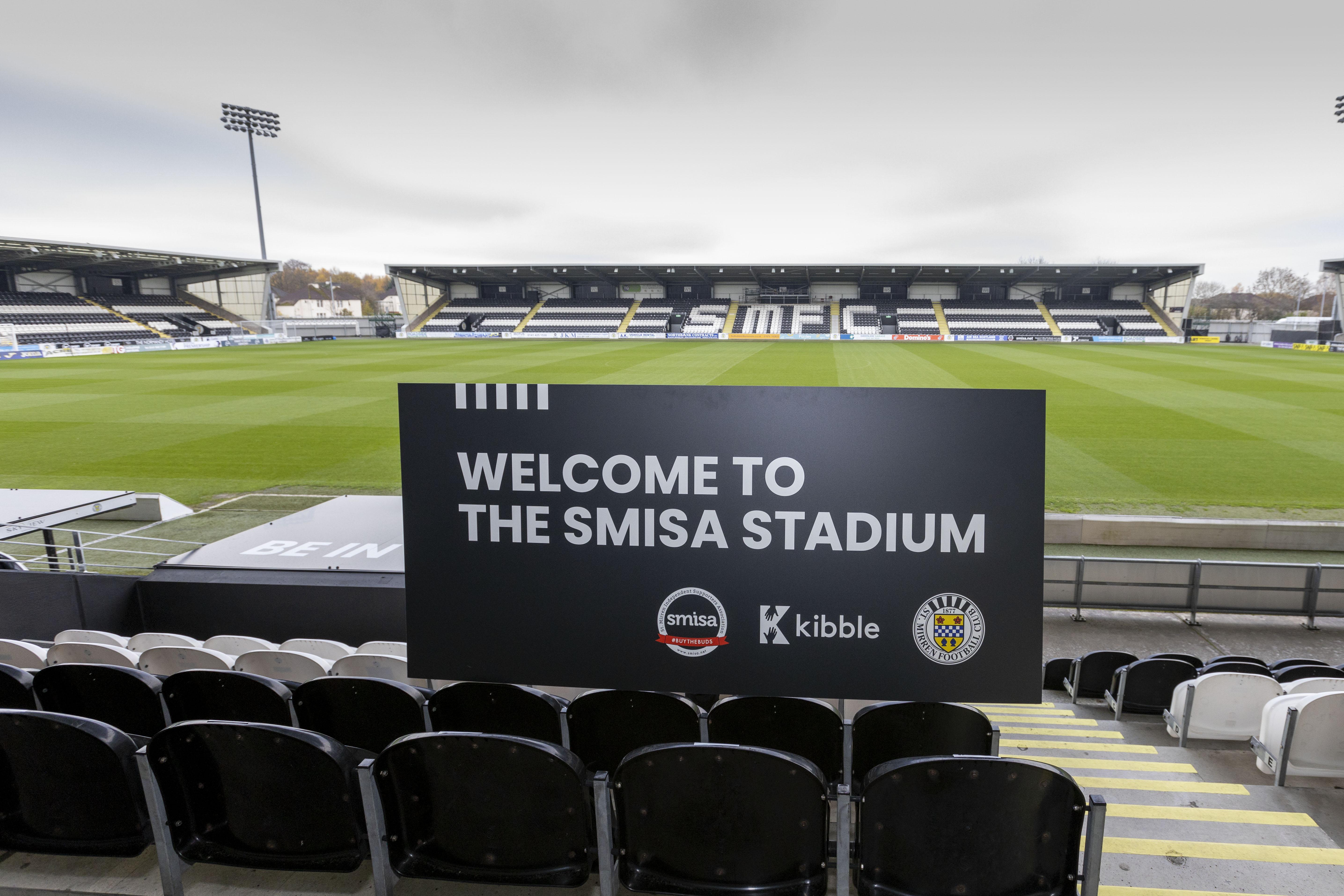 St Mirren Park to be renamed The SMISA Stadium